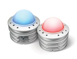 ArchiPoint iColor Powercore - Exterior Daylight Visible Point with RGB Light