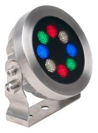 Acclaim Lighting Aqua Drum EO - 8 LED IP68 Rated Submersible Flood