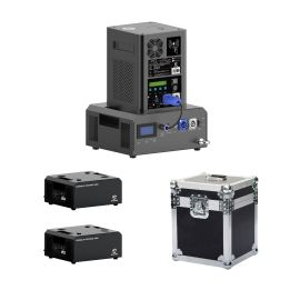 Showven Sparkular Portable  2-Pack - Battery Powered Dock for Sparkular and Mini in 2-Unit Roadcase