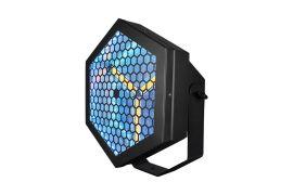 Blizzard Pro Lux Capacitor - 3 x 60 Watt Warm White/48 x .5 Watt RGB LED Blinder/Strobe Luminaire