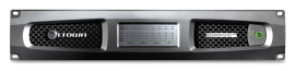 Crown DCi 8|300N - 8-Channel, 300W @ 4 Ohm Power Amplifier w BLU link, 70V/100V