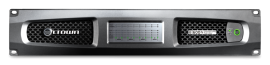 Crown DCi 8|600N - 8-Channel, 600W @ 4 Ohm Power Amplifier with BLU link, 70V/100V