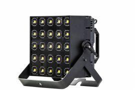 GLP KNV Cube - 25 x 30W White + 400 RGB LED 5x5 Matrix Cube