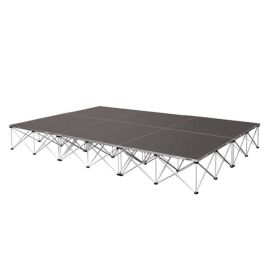 """Intellistage ISTAGE12816I - 12FT x 8FT, 16"""" High Industrial Stage System"""