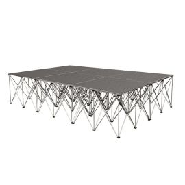 """Intellistage ISTAGE12832I - 12FT x 8FT, 32"""" High Industrial Stage System"""