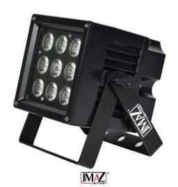 JMAZ Lighting Aero Par Hex 9IP - 9 x 6 Watt RGBAW+UV LED Par IP65 Rated