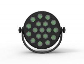 JMAZ Lighting Halo H6 Wash - 18 x 12 Watt RGBAW+UV LED Wash