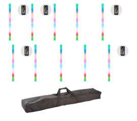 JMAZ Lighting Galaxy Tube 10 Pack - 32 x SMD RGB LED 1 Meter Color Tube (10 Pack)