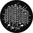 Rosco G926 Scaffolding Breakup Gam Design Gobo