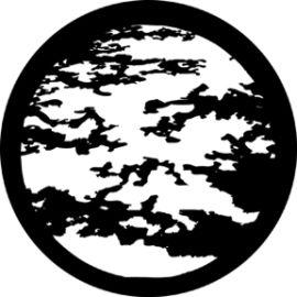 Rosco Moon Clouds Steel Gobo 78216