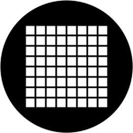 Rosco Small Squares Steel Gobo 78041