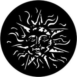 Rosco Smiling Sun Steel Gobo 78162
