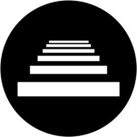 Rosco Stairs Steel Gobo 78055