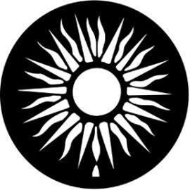 Rosco Sun Steel Gobo 77400