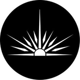 Rosco Sunbursts Steel Gobo 79180
