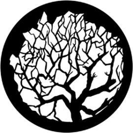 Rosco Winter Tree 1 Steel Gobo 79101