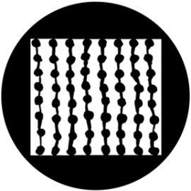 Rosco Wobbly Abacus Steel Gobo 76501