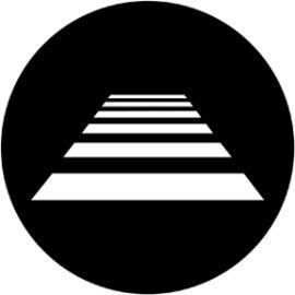 Rosco Zebra Crossing Steel Gobo 78054