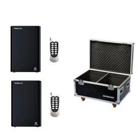 Showven Sparkular IR 2 Pack - Includes (2) Sparkular IR Cold Spark Machine, and (1) 2-Unit Roadcase.