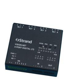 Strand Lighting Vision.Net 4-Port Digital I/O Module